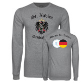 Grey Long Sleeve T Shirt-Deutschklub