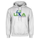 White Fleece Hoodie-UXA Ultimate