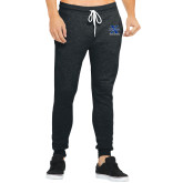 Bella Canvas Charcoal Heather Joggers-Track and Field