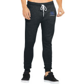 Bella Canvas Charcoal Heather Joggers-Water Polo