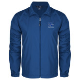 Full Zip Royal Wind Jacket-Track and Field