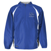 Holloway Hurricane Royal/White Pullover-Athletic Boosters