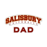 Dad Decal-Arched Salisbury University, 6 inches wide