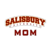 Mom Decal-Arched Salisbury University, 6 inches wide