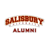 Alumni Decal-Arched Salisbury University, 6 inches wide