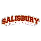 Extra Large Decal-Arched Salisbury University, 18 inches wide