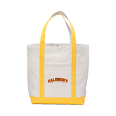 Contender White/Gold Canvas Tote-Arched Salisbury University