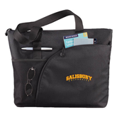 Excel Black Sport Utility Tote-Arched Salisbury University