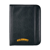 Insight Black Calculator Padfolio-Arched Salisbury University