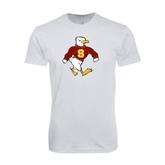 Next Level SoftStyle White T Shirt-Sammy the Sea Gull