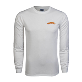 White Long Sleeve T Shirt-Arched Salisbury University