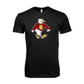 Next Level SoftStyle Black T Shirt-Sammy the Sea Gull