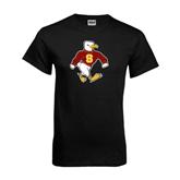 Black T Shirt-Sammy the Sea Gull