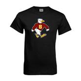 Black T Shirt-Sammy the Sea Gull Distressed