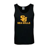 Black Tank Top-SU Sea Gulls