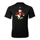 Under Armour Black Tech Tee-Sammy the Sea Gull