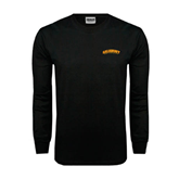 Black Long Sleeve TShirt-Arched Salisbury University
