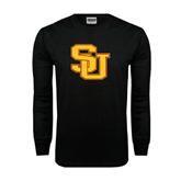 Black Long Sleeve TShirt-SU