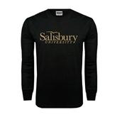 Black Long Sleeve TShirt-Salisbury University