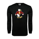 Black Long Sleeve TShirt-Sammy the Sea Gull