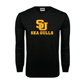 Black Long Sleeve TShirt-SU Sea Gulls