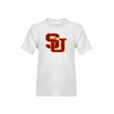 Youth White T Shirt-SU