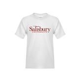 Youth White T Shirt-Salisbury University