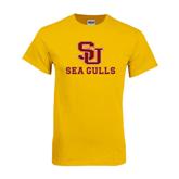 Gold T Shirt-SU Sea Gulls