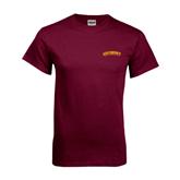 Maroon T Shirt-Arched Salisbury University