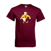 Maroon T Shirt-Sammy the Sea Gull