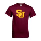 Maroon T Shirt-SU