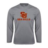 Performance Steel Longsleeve Shirt-SU Sea Gulls