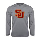 Performance Steel Longsleeve Shirt-SU