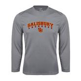 Performance Steel Longsleeve Shirt-Lacrosse