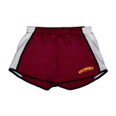 Ladies Maroon/White Team Short-Arched Salisbury University