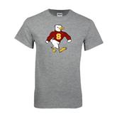 Grey T Shirt-Sammy the Sea Gull Distressed