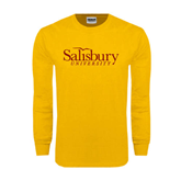 Gold Long Sleeve T Shirt-Salisbury University