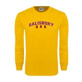 Gold Long Sleeve T Shirt-Dad