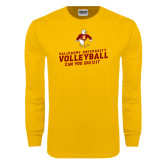 Gold Long Sleeve T Shirt-Can You Dig It