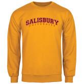 Gold Fleece Crew-Arched Salisbury University