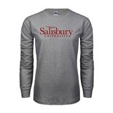 Grey Long Sleeve T Shirt-Salisbury University