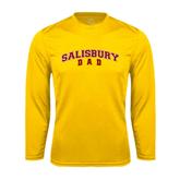 Performance Gold Longsleeve Shirt-Dad