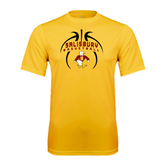 Performance Gold Tee-Graphics in Basketball