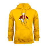 Gold Fleece Hoodie-Sammy the Sea Gull