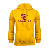 Gold Fleece Hoodie-SU Sea Gulls