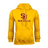 Gold Fleece Hoodie-SU Sea Gulls