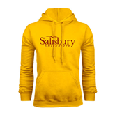 Gold Fleece Hoodie-Salisbury University