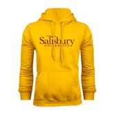 Gold Fleece Hoodie-Salisbury University