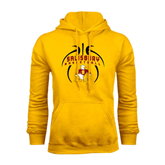 Gold Fleece Hoodie-Graphics in Basketball