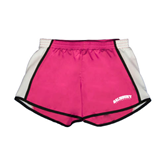 Ladies Fuchsia/White Team Short-Arched Salisbury University